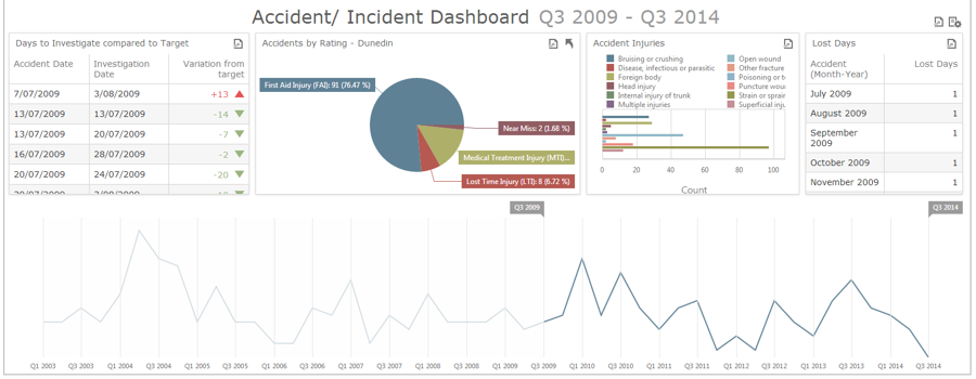 Dashboard Safety Manager